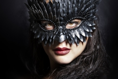 Silver-Feather-Mask