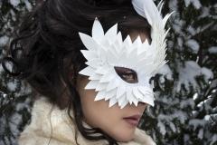 White-Feather-Asymmetrical