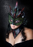 Dragon Queen Mask/Choker