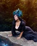 Blue Feather Headdress