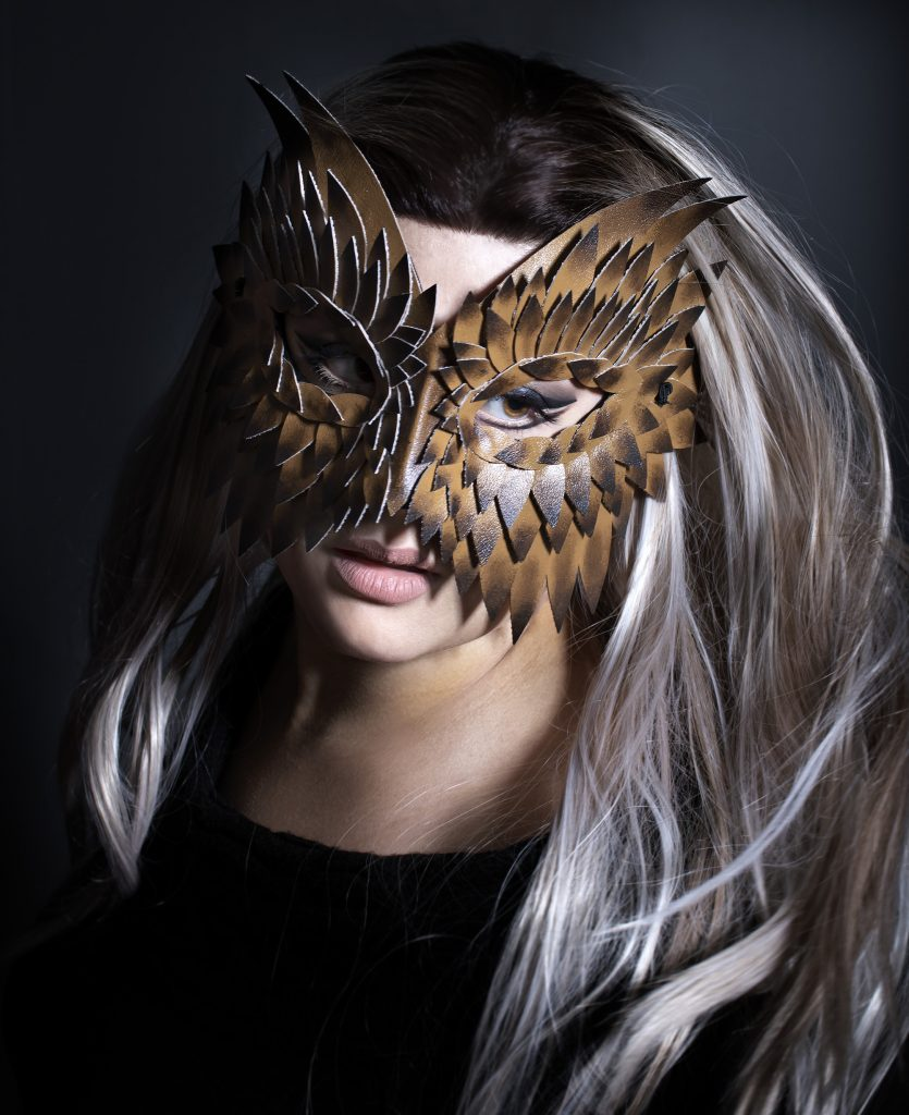 woodland owl mask